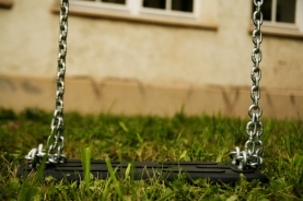 white swing chain too long no fun