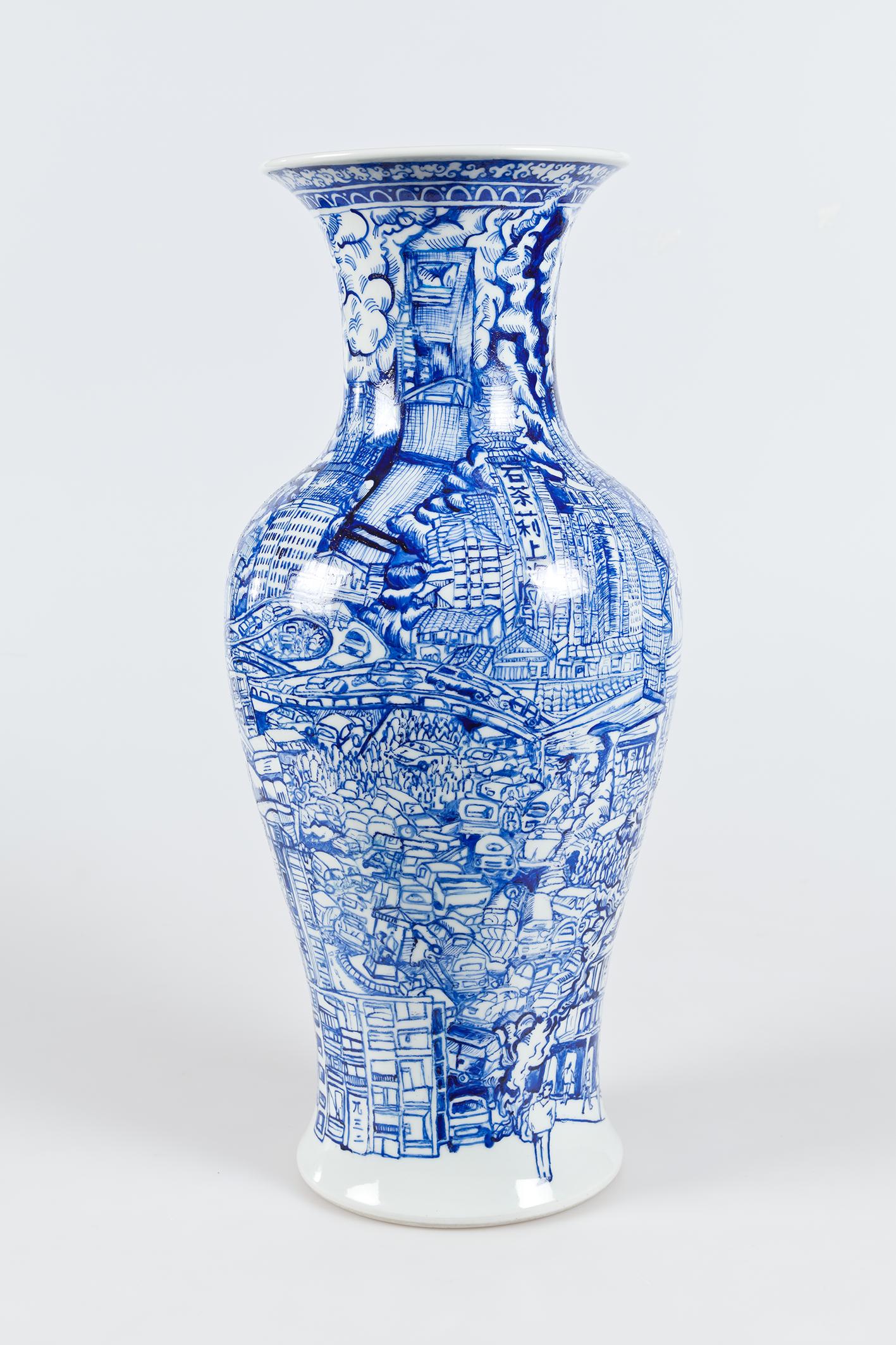 modern ming vase charlie stein