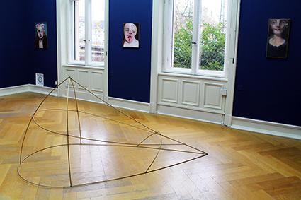 Villa Merkel artist painting sculpture
