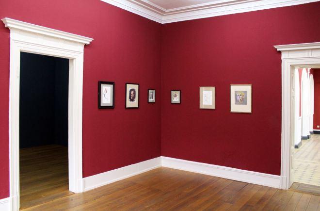 Villa Merkel Charlie Stein Drawingroom red