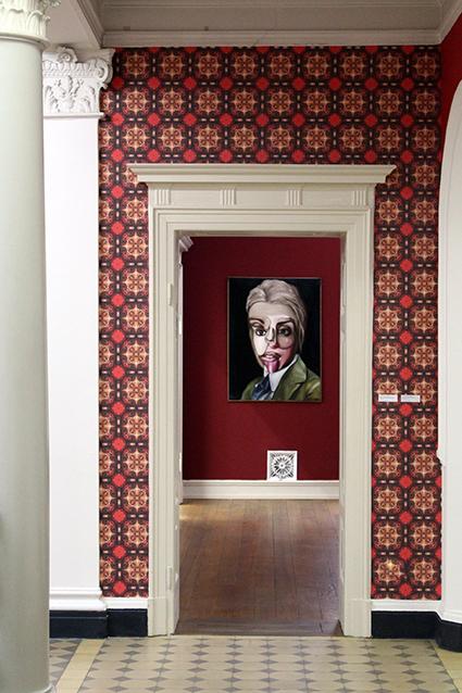 Villa Merkel Hallway Atrium Stein
