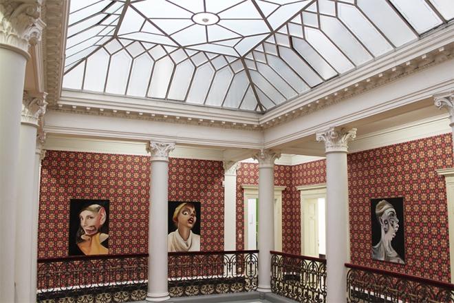 Villa Merkel Installation Charlie Stein Exhibition 1
