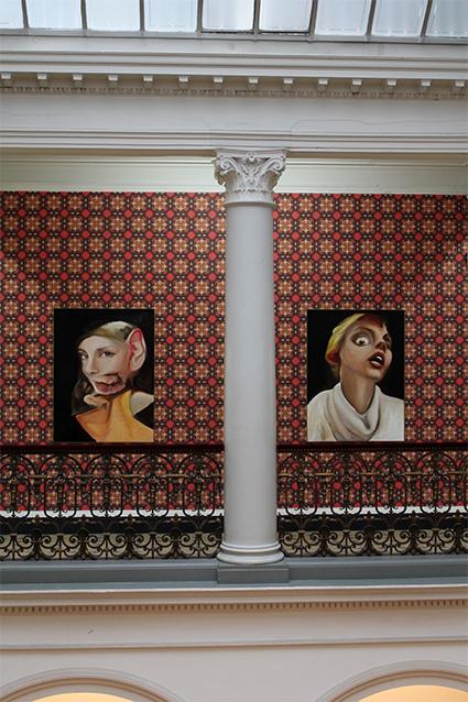 Villa Merkel Rooms Lichthof Atrium