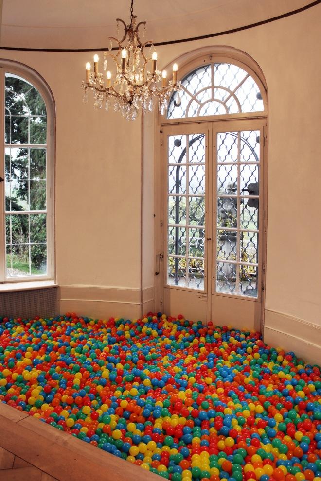 Charlie Stein Balls Installation Museum Villa Rot Room