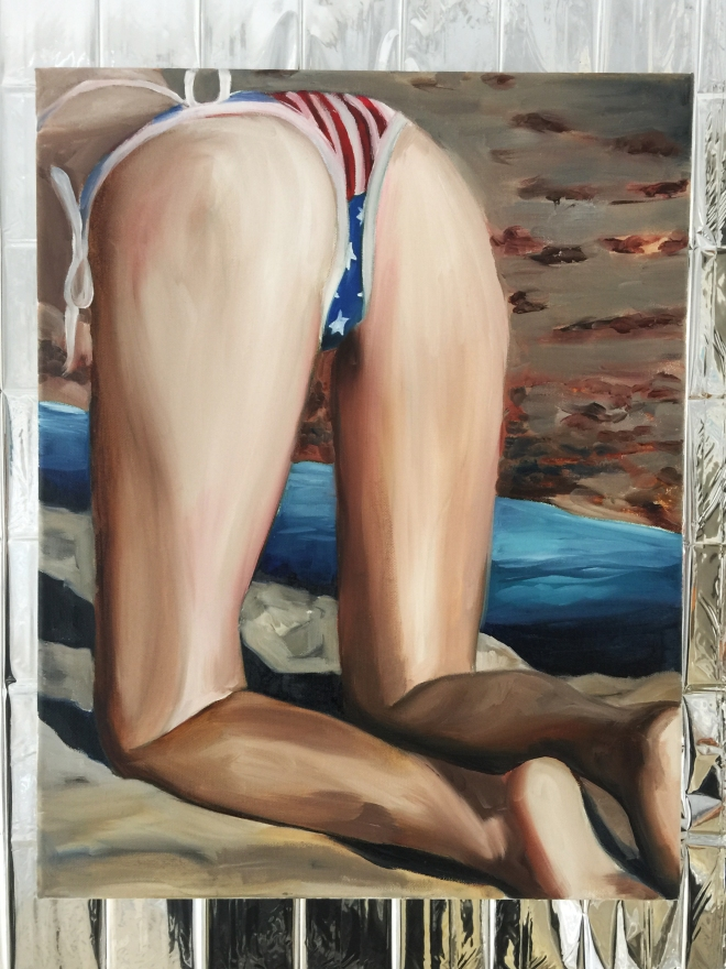 american flag bikini